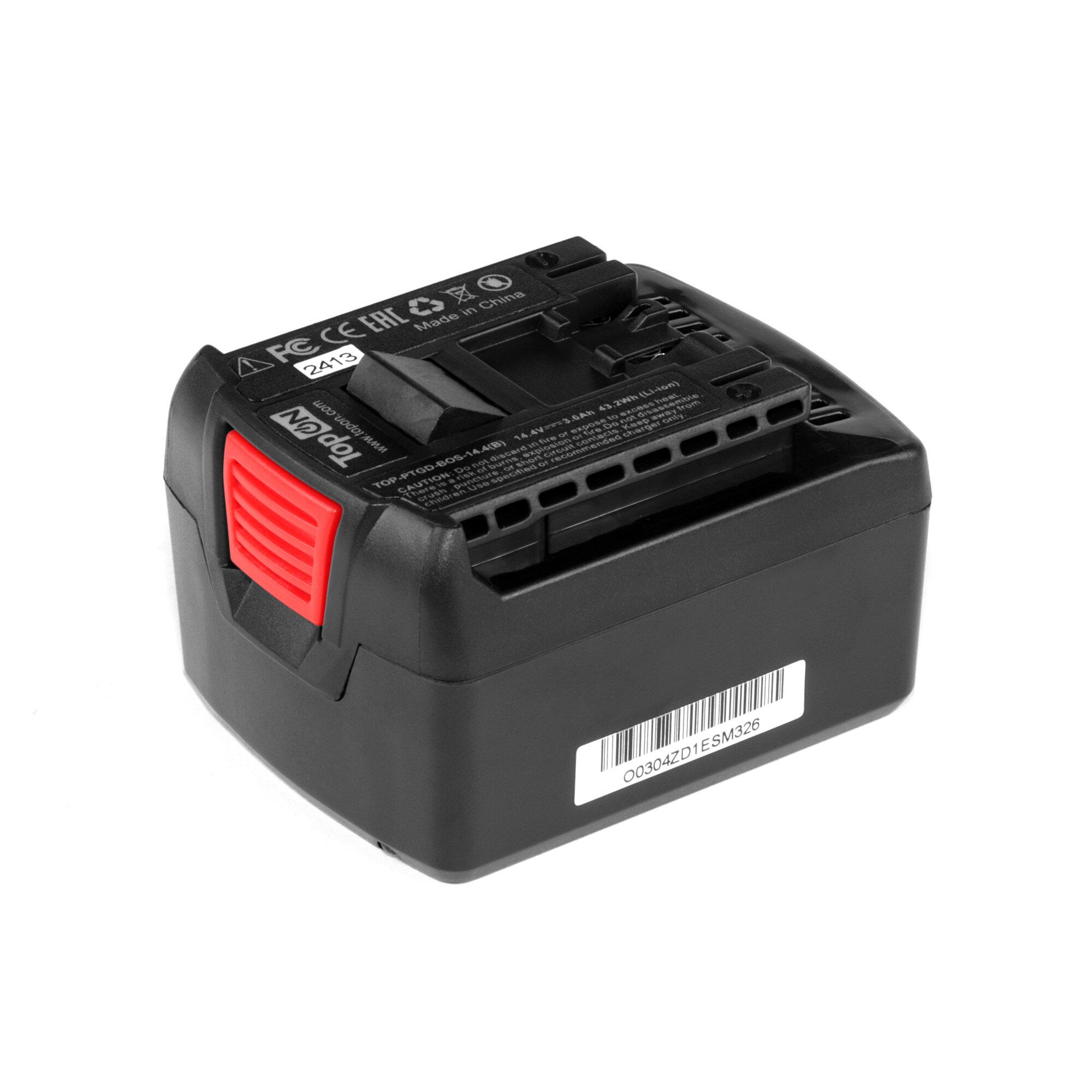 Аккумулятор для Bosch 14.4V 3.0Ah (Li-Ion) GSR 14.4-2 LI, GDR 14.4 V-LI, 25614-01 Series. 2607336078, BAT607.