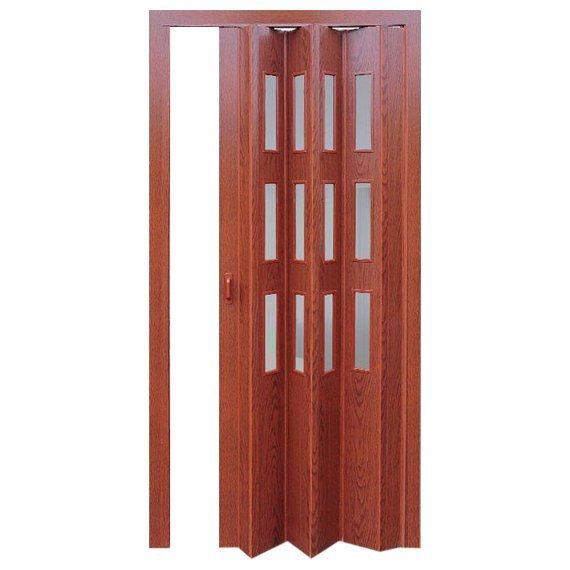 дверь раздвижная фаворит вишня декор вставка