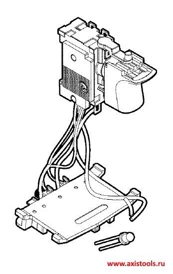 электронный модуль Bosch Электронный модуль для GSB 140-LI и GSR 140-LI (2607202329 , 2.607.202.329)