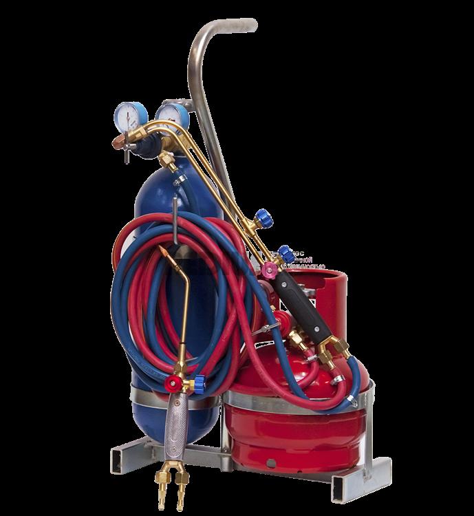 Переносной сварочный пост ПГУ-5П (кислород 5 л / пропан 5 л)