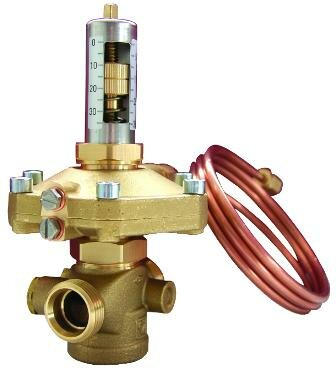Herz Регулятор перепада давления 5-30 кПа DN15, 400241