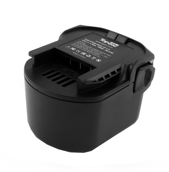 Аккумулятор TopON TOP-PTGD-AEG-12-1.5 Ni-Cd 12 В 1.5 А·ч