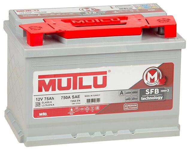 Автомобильный аккумулятор Mutlu SFB 3 (L3.75.072.A)