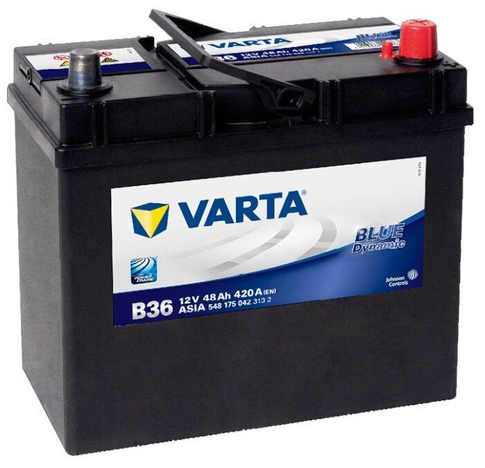 Автомобильный аккумулятор VARTA Blue Dynamic JIS B36 (548 175 042)