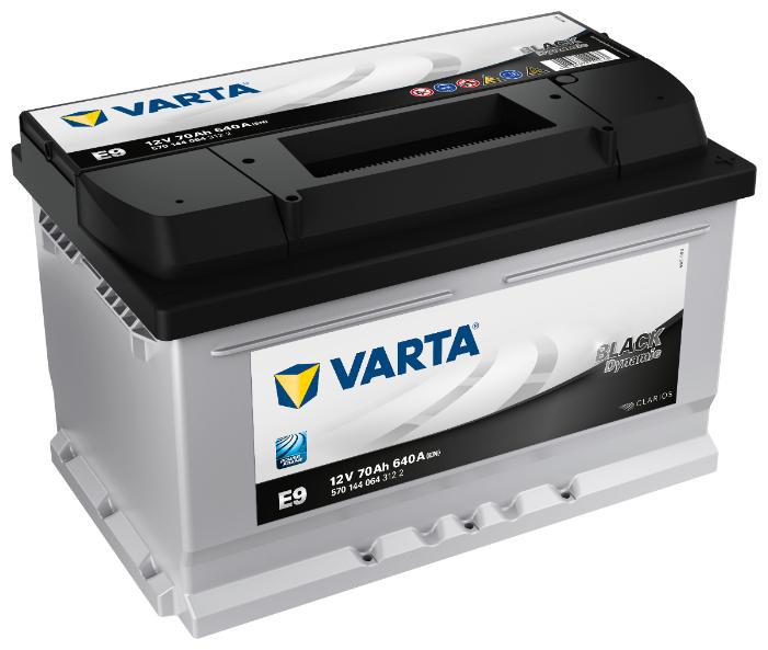 Аккумулятор VARTA Black Dynamic E9 (570 144 064)