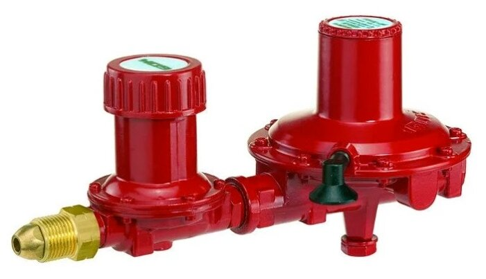Регулятор давления газа 12кг/час 37мбар для газгольдеров POL x IG G1/2