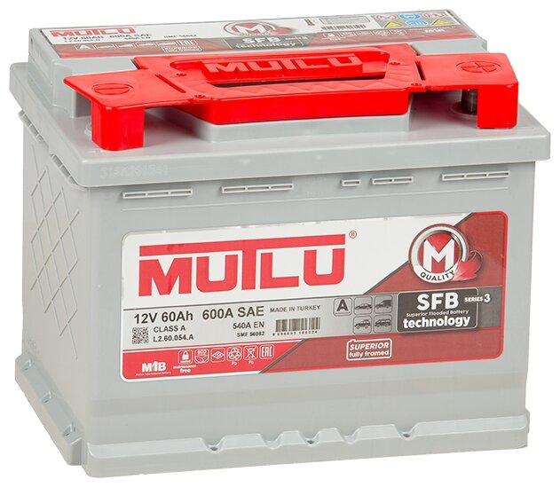 Автомобильный аккумулятор Mutlu SFB 3 (L2.60.054.A)
