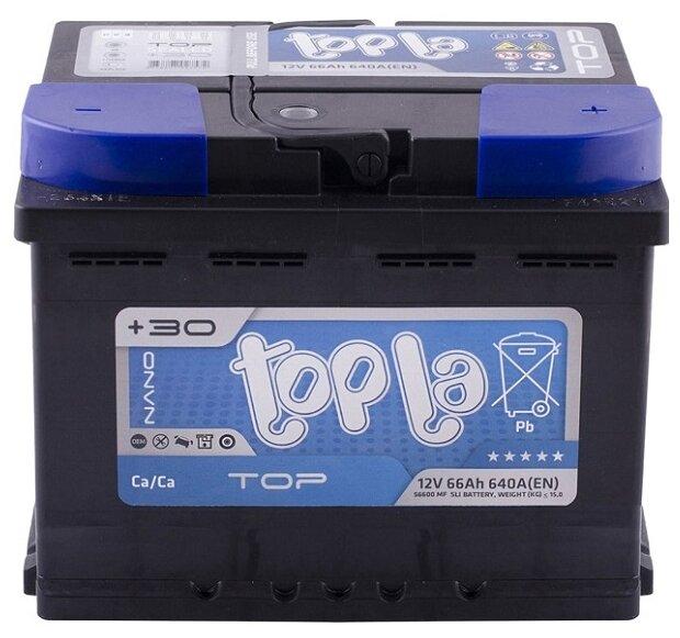 Автомобильный аккумулятор Topla Top 118666