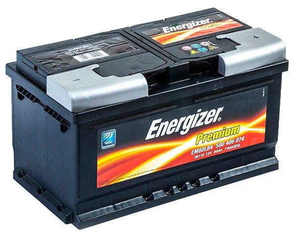 Автомобильный аккумулятор Energizer Premium EM80LB4