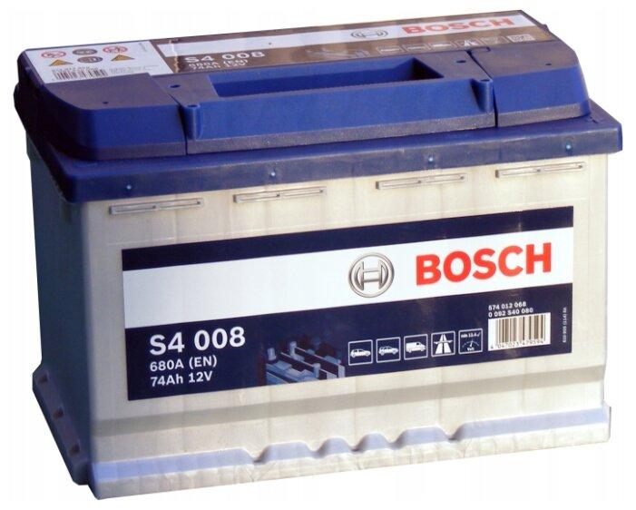 Автомобильный аккумулятор Bosch S4 008 (0 092 S40 080)