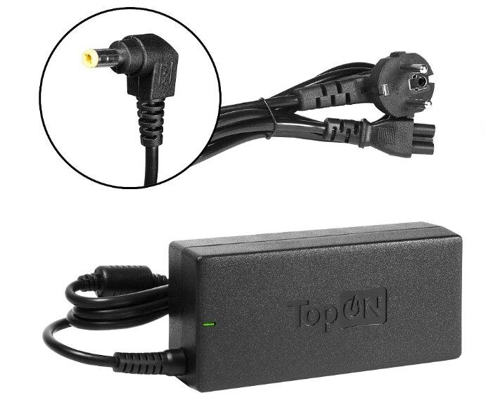 Блок питания TopON TOP-DT01 для ноутбуков ASUS, DELL, HP