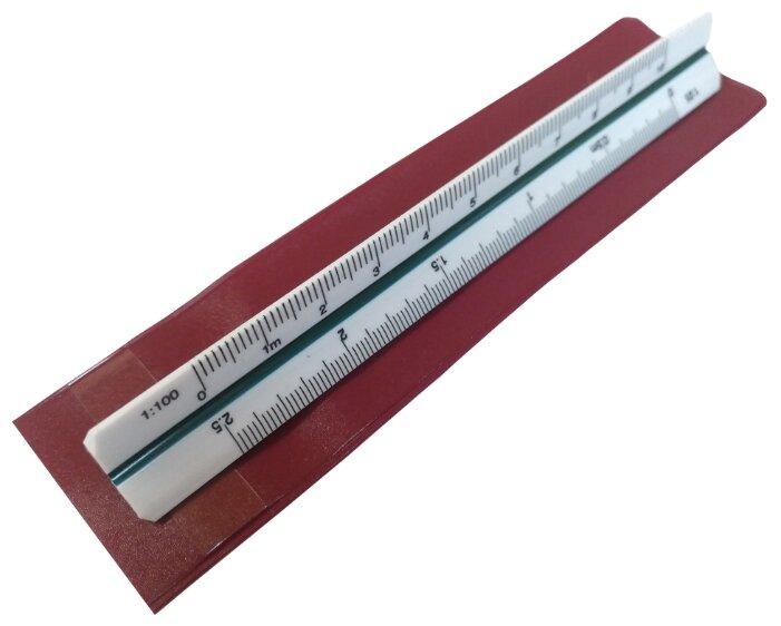 Domingo Ferrer Линейка масштабная трехгранная 6 шкал 10 см (DF271130)