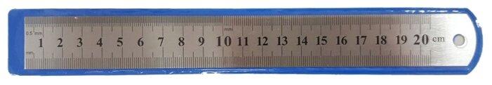 Prof-Press Линейка стальная 20 см (Л-0739)