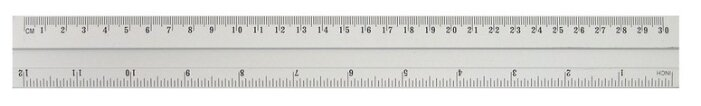 Attache Линейка Line металлическая 30 см (144629)
