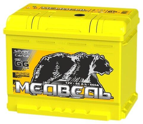 Автомобильный аккумулятор Тюменский медведь 6СТ 66 VLA обратная полярность