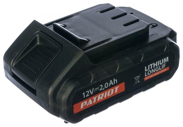 Аккумулятор PATRIOT 180201100 Li-Ion 12 В 2 А·ч
