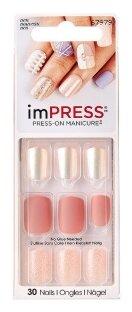 Накладные ногти KISS imPRESS Press-On Manicure короткая длина