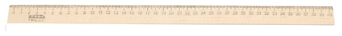 Prof-Press Линейка деревянная 40 см (Л-4268)