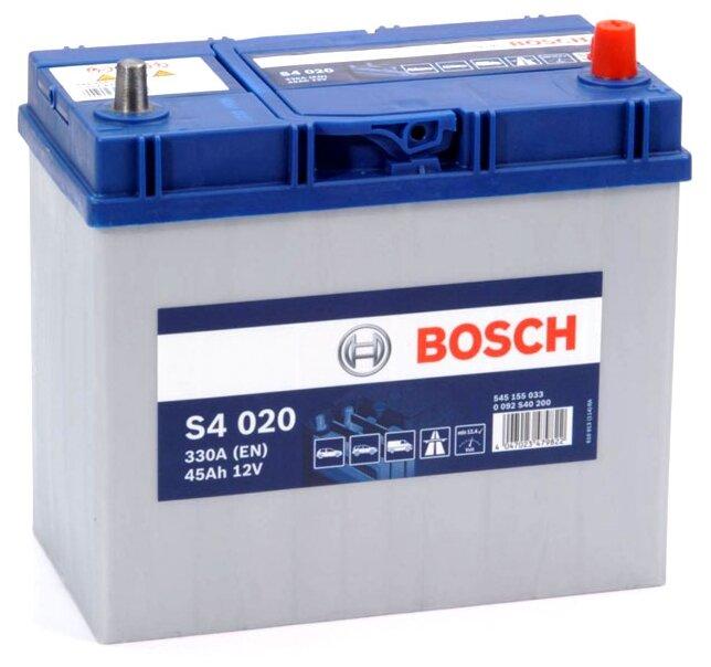 Автомобильный аккумулятор Bosch S4 020 (0 092 S40 200)