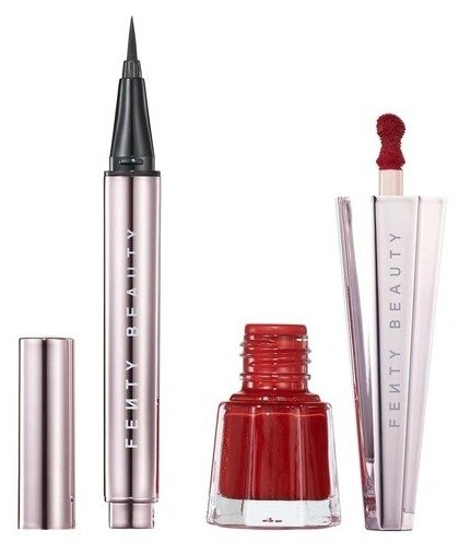 Fenty Beauty Набор для макияжа Set Lil Fly Stunna Mini Eye + Lip