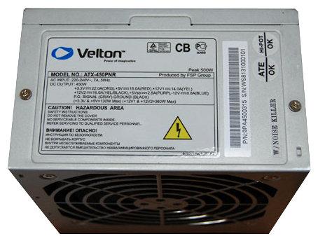 Блок питания Velton ATX-450PNR 450W