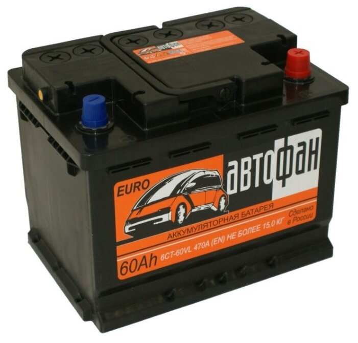 Автомобильный аккумулятор АвтоФан 6CT-60VL о.п.