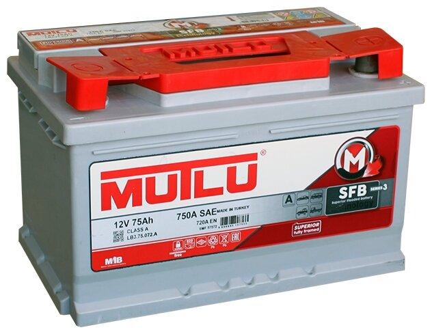 Автомобильный аккумулятор Mutlu SFB 3 (LB3.75.072.A)