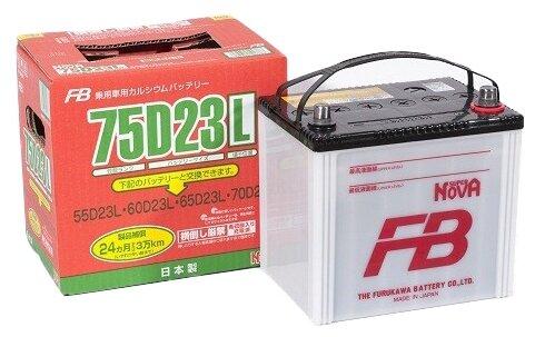 Автомобильный аккумулятор Furukawa Battery Super Nova 75D23L