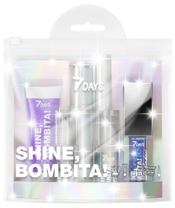 7DAYS Набор для макияжа Shine, Bombita! №2 Night fantasy