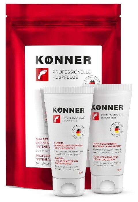 Набор Konner Мини-набор для экспресс-педикюра Интенсивное восстановление